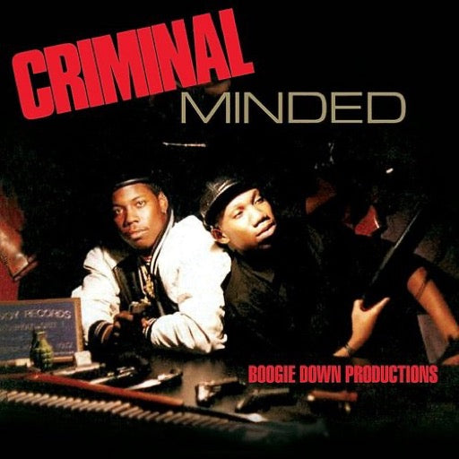BOOGIE DOWN PRODUCTIONS <br/> <small>CRIMINAL MINDED (COLV) (RED) (</small>