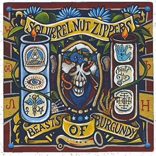 SQUIRREL NUT ZIPPERS <br/> <small>BEASTS OF BURGUNDY</small>