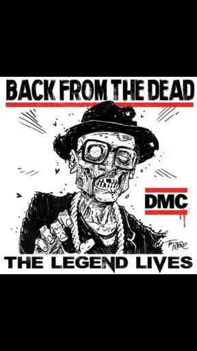 MCDANIELS,DARRYL DMC <br/> <small>BACK FROM THE DEAD (10IN) (CAN</small>