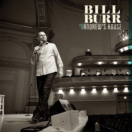 BURR,BILL <br/> <small>LIVE AT ANDREW'S HOUSE</small>