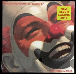BUTTHOLE SURFERS <br/> <small>LOCUST ABORTION TECH 10IN(RED)</small>