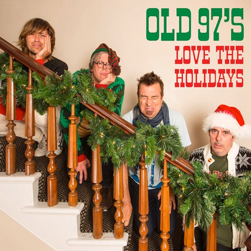 OLD 97'S <br/> <small>LOVE THE HOLIDAYS (COLV) (GRN)</small>