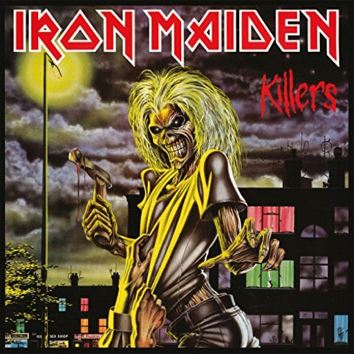 IRON MAIDEN <br/> <small>KILLERS</small>