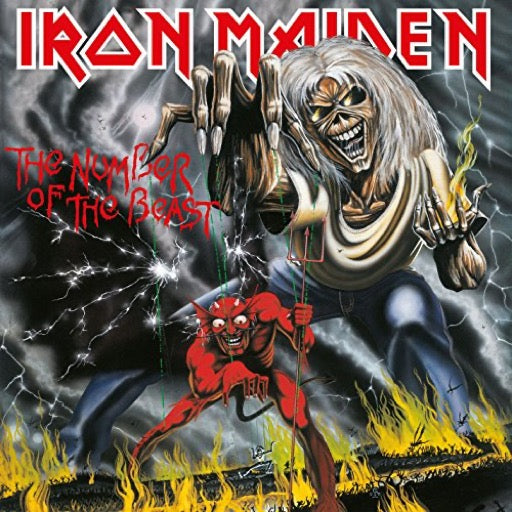 IRON MAIDEN <br/> <small>NUMBER OF THE BEAST</small>