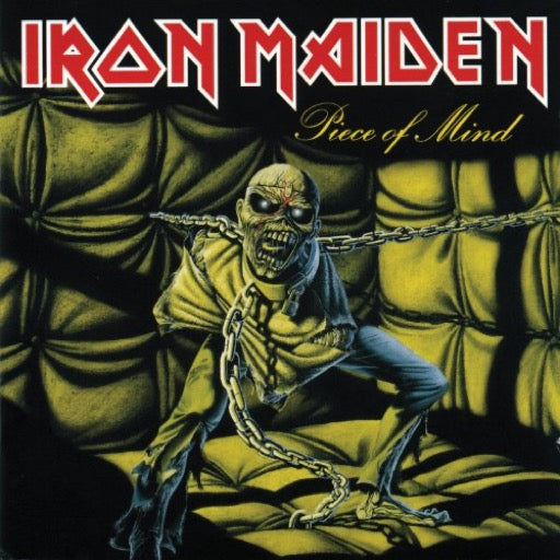 IRON MAIDEN <br/> <small>PIECE OF MIND</small>