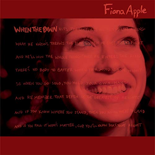 APPLE,FIONA <br/> <small>WHEN THE PAWN</small>