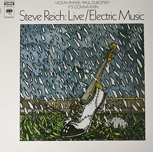 REICH,STEVE <br/> <small>LIVE / ELECTRIC MUSIC (OGV)</small>