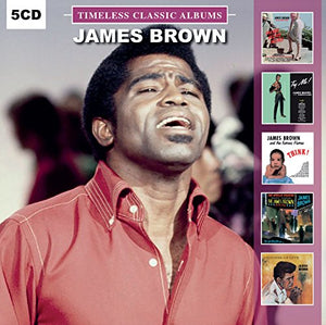 BROWN,JAMES <br/> <small>TIMELESS CLASSIC ALBUMS 5XCD</small>
