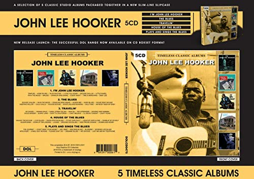 HOOKER,JOHN LEE <br/> <small>TIMELESS CLASSIC ALBUMC (5CD</small>