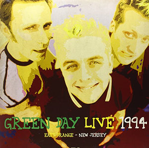 GREEN DAY <br/> <small>LIVE 1994 EAST ORANGE NJ</small>