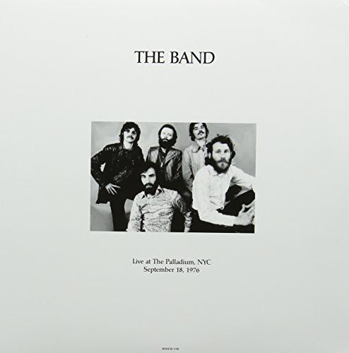 BAND <br/> <small>LIVE NYC PALLADIUM 9/18/76</small>