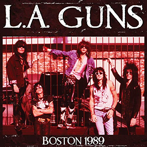 L.A. GUNS <br/> <small>BOSTON 1989 (BLUE) (RED)</small>