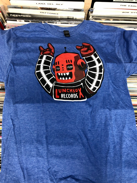 Lunchbox Records New Robot Shirt