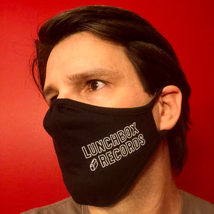Lunchbox Records Logo Face Mask