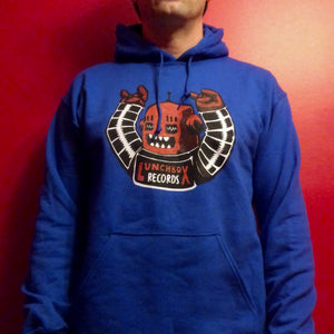 Lunchbox Records New Robot Pullover Hoodie