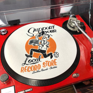 Lunchbox Support Your Local Record Store Slipmat