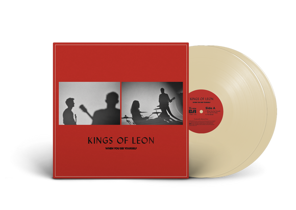 KINGS OF LEON <br><small>WHEN YOU SEE YOURSELF (INDIE EXCLUSIVE CREAM VINYL) PREORDER <br>out 3/5/2021<br></small>