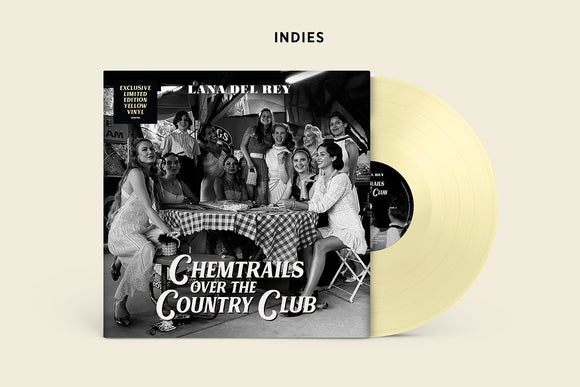 LANA DEL REY <br><small>CHEMTRAILS OVER THE COUNTRY CLUB (INDIE YELLOW) <br>out 3/19/2021<br></small>