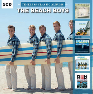 BEACH BOYS <br/> <small>TIMELESS CLASSIC ALBUMS 5XCD</small>