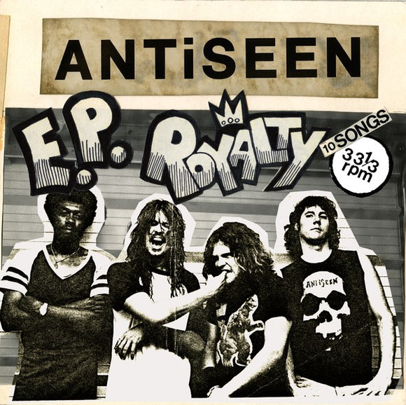 ANTISEEN <br/> <small>E.P. ROYALTY</small>