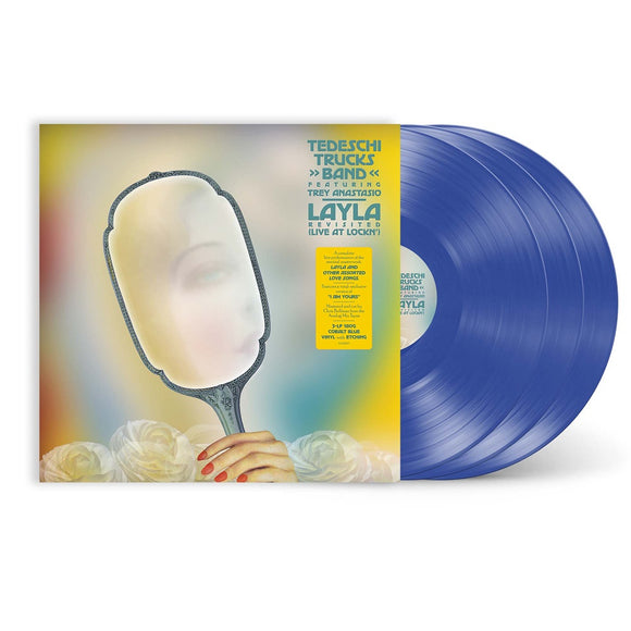 TEDESCHI TRUCKS BAND FEAT. TREY ANASTASIO <br><small>Layla Revisited (Live At LOCKN') [Translucent BLUE 3 LP] <br>PREORDER out 8/27/2021<br></small>