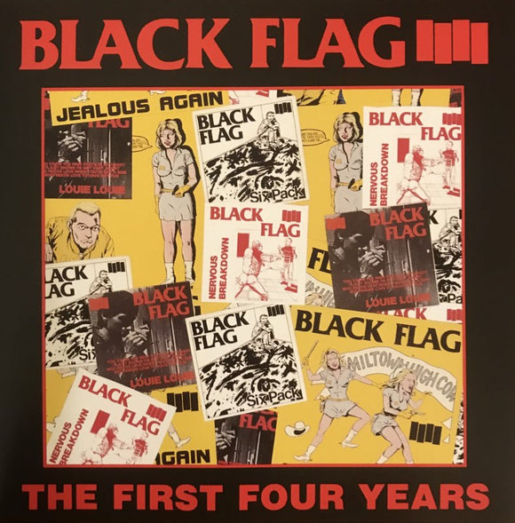 BLACK FLAG <br/> <small>FIRST FOUR YEARS / SINGLES</small>