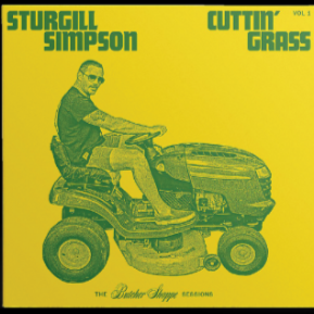 SIMPSON,STURGILL <br><small>CUTTIN' GRASS LP (BLACK) <br>out 12/11/2020<br></small>