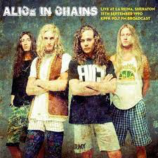 ALICE IN CHAINS <br/> <small>LIVE LA REINA SEPT 15 1990</small>