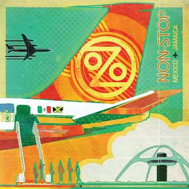 OZOMATLI <br/> <small>NON-STOP: MEXICO TO JAMAIC(ORANGE VINYL)</small>