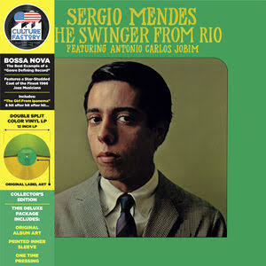 MENDES,SERGIO <br/> <small>SWINGER FROM RIO (GREEN/YELLOW)RSD3</small>