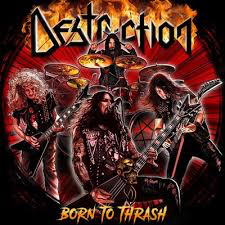 DESTRUCTION <br/> <small>BORN TO THRASH (LIVE IN GERMANY)</small>