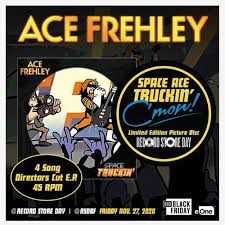 FREHLEY,ACE <br/> <small>SPACE TRUCKIN' (RSD) (BF20)(PIC DISC)</small>