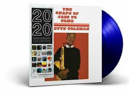 COLEMAN,ORNETTE <br/> <small>SHAPE OF JAZZ TO COME (BLUE)</small>