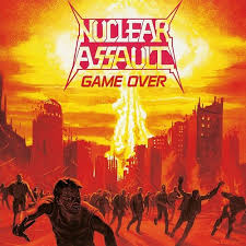 NUCLEAR ASSAULT <br/> <small>GAME OVER (REIS) (ORANGE/CLEAR</small>