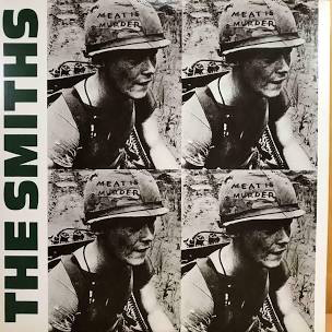 SMITHS <br/> <small>MEAT IS MURDER (WHITE)</small>