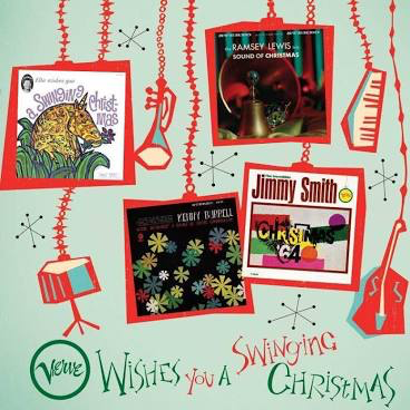 VERVE WISHES YOU A SWINGING CH <br/> <small>SWINGING CHRISTMAS BOX 4LP</small>