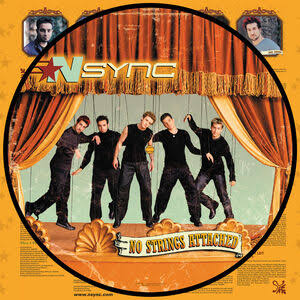 N SYNC <br/> <small>NO STRINGS ATTACHED (20TH ANNIV.) (PIC DISC)</small>