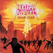 NUCLEAR ASSAULT <br/> <small>GAME OVER (REIS)(BLACK)</small>