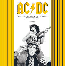 AC/DC <br/> <small>LIVE SAN FRANCISCO SEPT 3 1977</small>