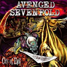 AVENGED SEVENFOLD <br/> <small>CITY OF EVIL (TRANSPARENT RED)</small>