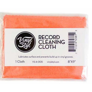 VINYL STYL LUBRICATED CLEANING CLOTH