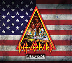 DEF LEPPARD <br/> <small>HITS VEGAS - LIVE AT PLANET HOLLYWOOD</small>