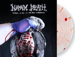NAPALM DEATH <br/> <small>THROES OF JOY IN (COLV)(BLOOD)</small>