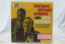 JONES,THAD / MEL LEWIS ORCHEST <br/> <small>BF ALL MY YESTERDAYS(REX)</small>