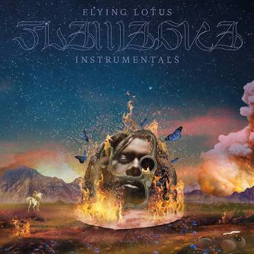 FLYING LOTUS <br/> <small>FLAMAGRA INSTRUMENTALS (SLIPMAT)</small>