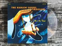 HARLEM GOSPEL TRAVELERS <br/> <small>HE'S ON TIME (COLOR VINYL) (CO</small>