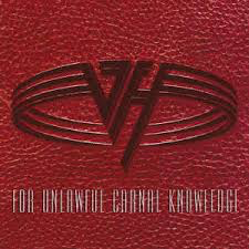 VAN HALEN <br/> <small>FUCK (FOR UNLAWFUL CARNAL KNOWLEDGE) (RED)</small>