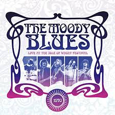 MOODY BLUES <br/> <small>LIVE AT THE ISLE OF WIGHT COLV</small>