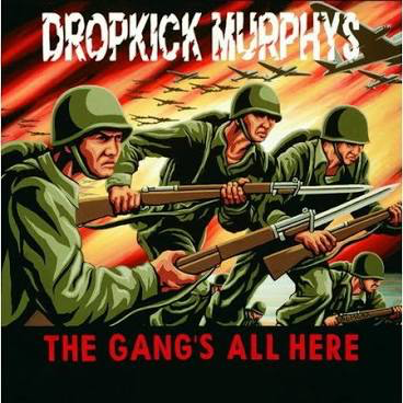 DROPKICK MURPHYS <br/> <small>GANGS ALL HERE (YELLOW)</small>
