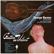 BARNES,GEORGE <br/> <small>GUITAR IN VELVET (BLUE) (COLV)</small>